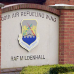 RAF Mildenhall partially evacuated following discovery of an unexploded ordnance