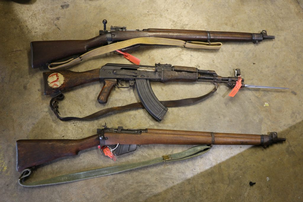 More than 200 firearms handed in during surrender in Suffolk