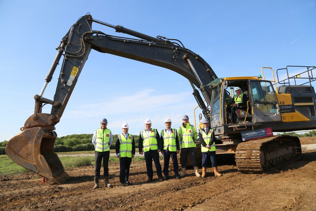 Construction starts on two speculative logistics units at Suffolk Park