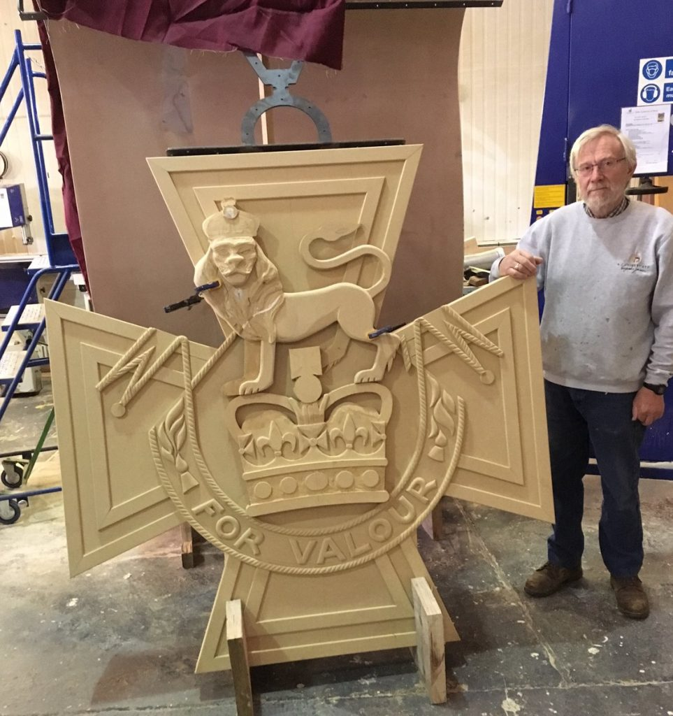 Another WW1 Trail sculpture has been unveiled