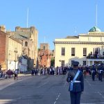 Bury St Edmunds armed forces day sunset ceremony