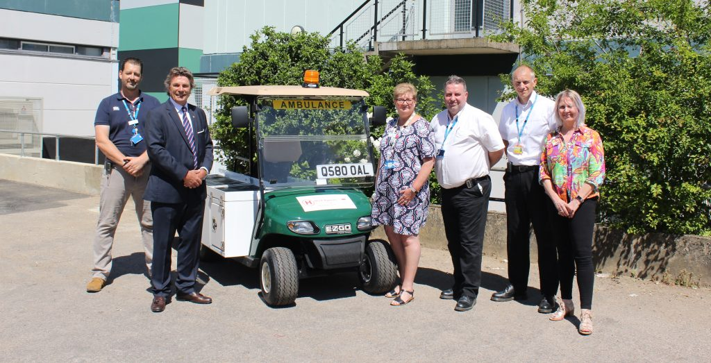 New 'ambo-buggy' arrives at West Suffolk Hospital to support most critically unwell patients