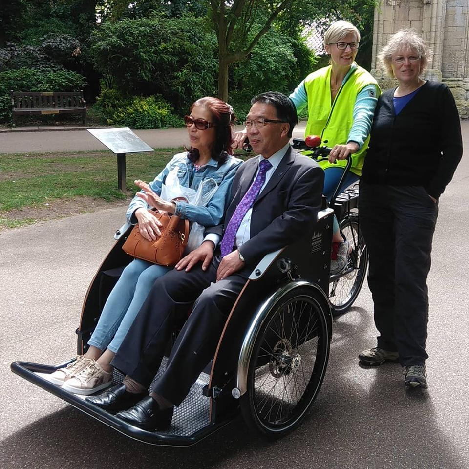 Bury St Edmunds Rickshaw officially launches