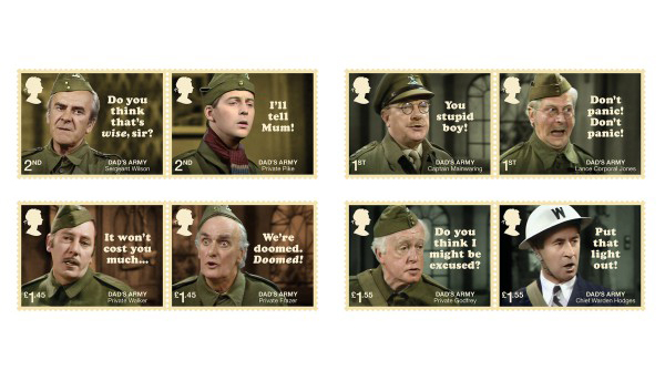 Dad's Army 50th Anniversary Stamp unveiled