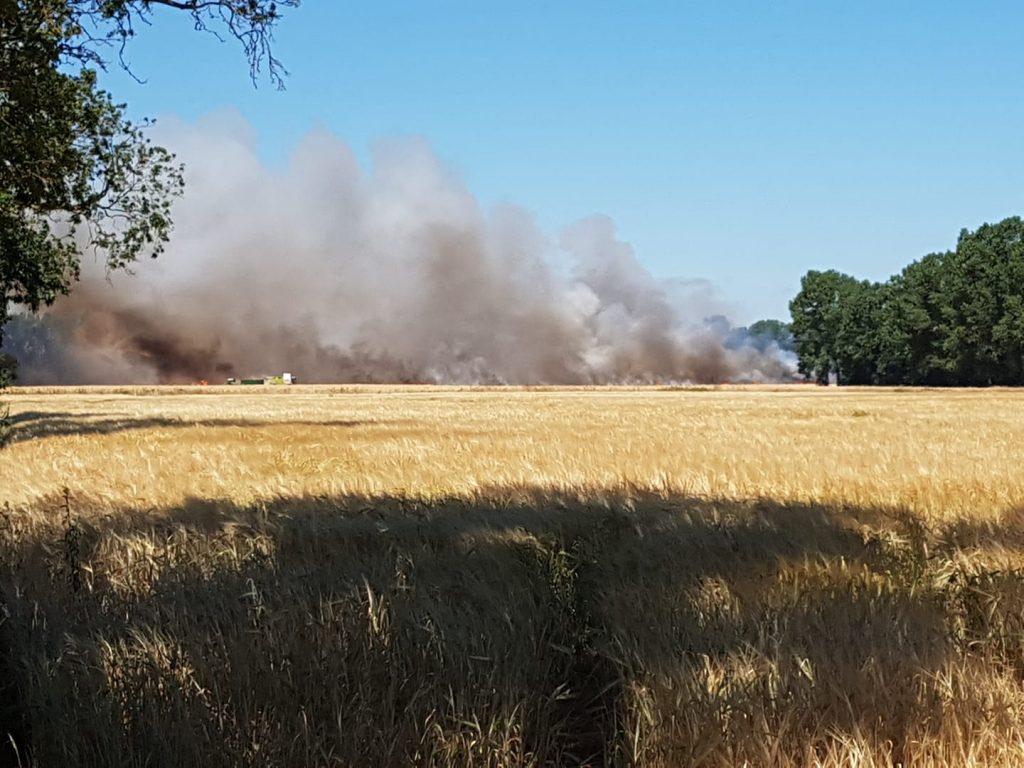 UPDATE – Major fire in Hengrave