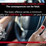 Suffolk Police support national mobile phone campaign