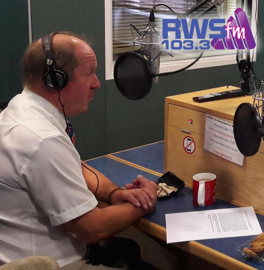 Tim Passmore Police and Crime Commissioner talks to RWSfm