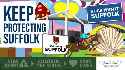 Suffolk County Council –  COVID-19 daily bulletin – 2nd July