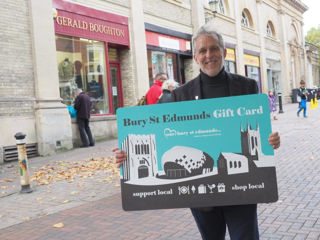 Bury St Edmunds Gift Card a hit with local companies gifting staff festive bonuses