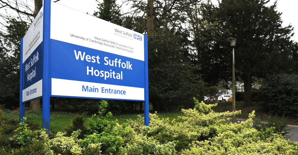 West Suffolk Hospital to suspend patient visiting following significant increase in coronavirus cases locally