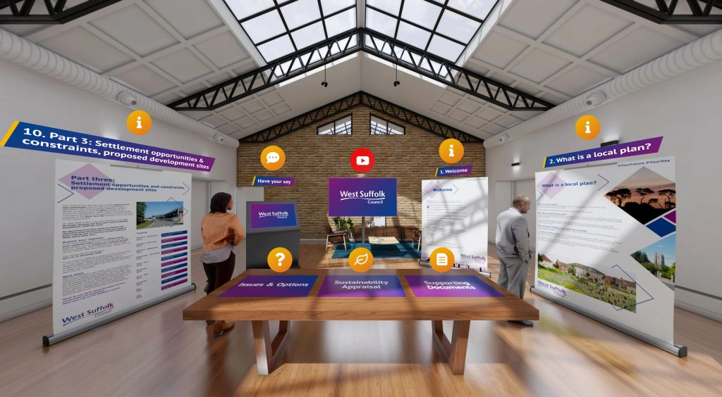 Virtual exhibition launched for new Local Plan for West Suffolk