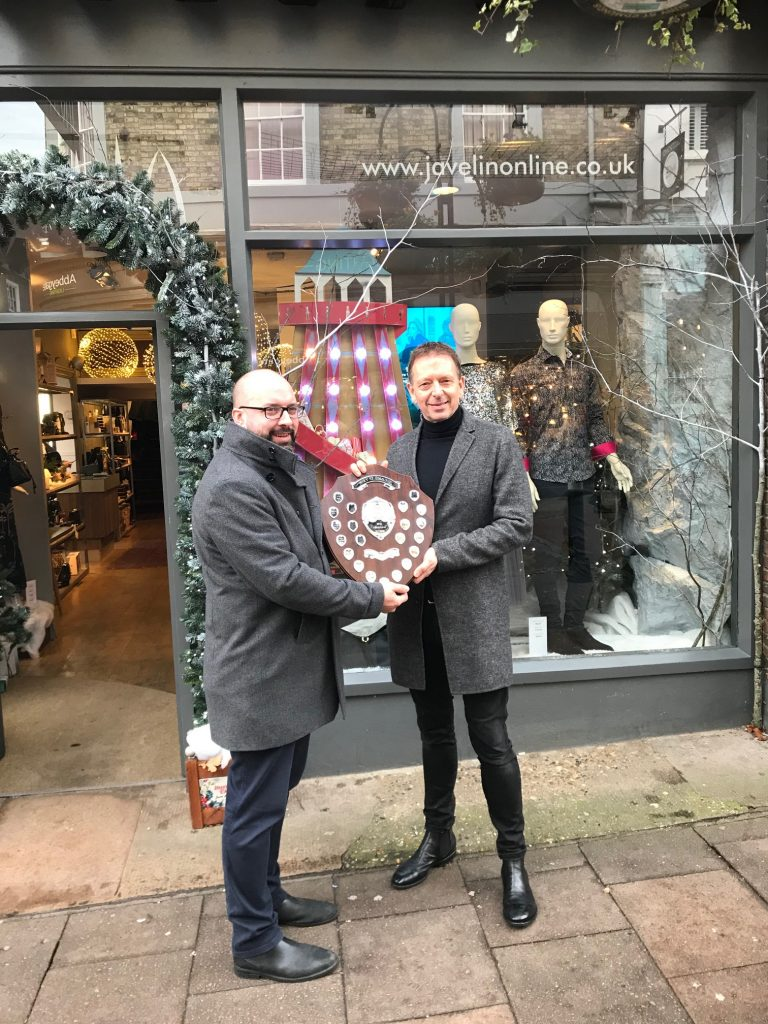 Our Bury St Edmunds launches best dressed Christmas window competition digitally for the first time