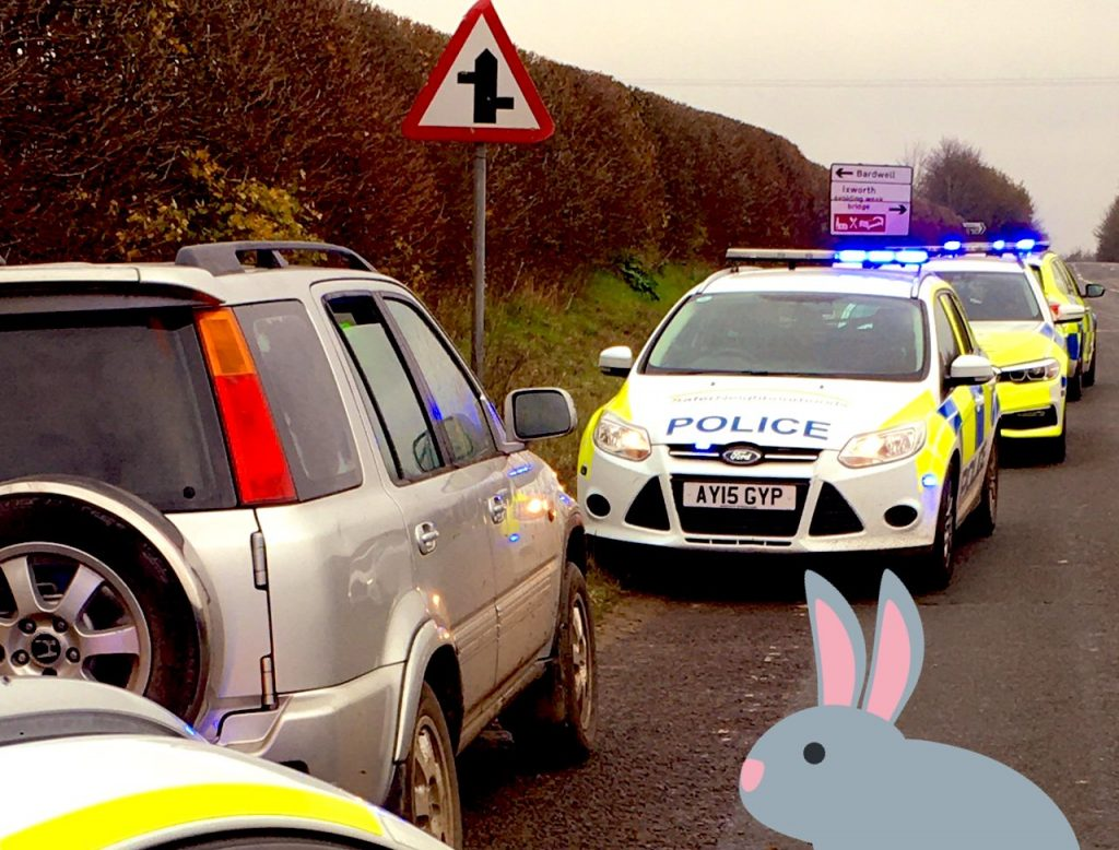 Five men arrested for Hare coursing near Ixworth