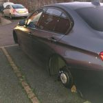 More vehicles wheels stolen in Moreton Hall over night