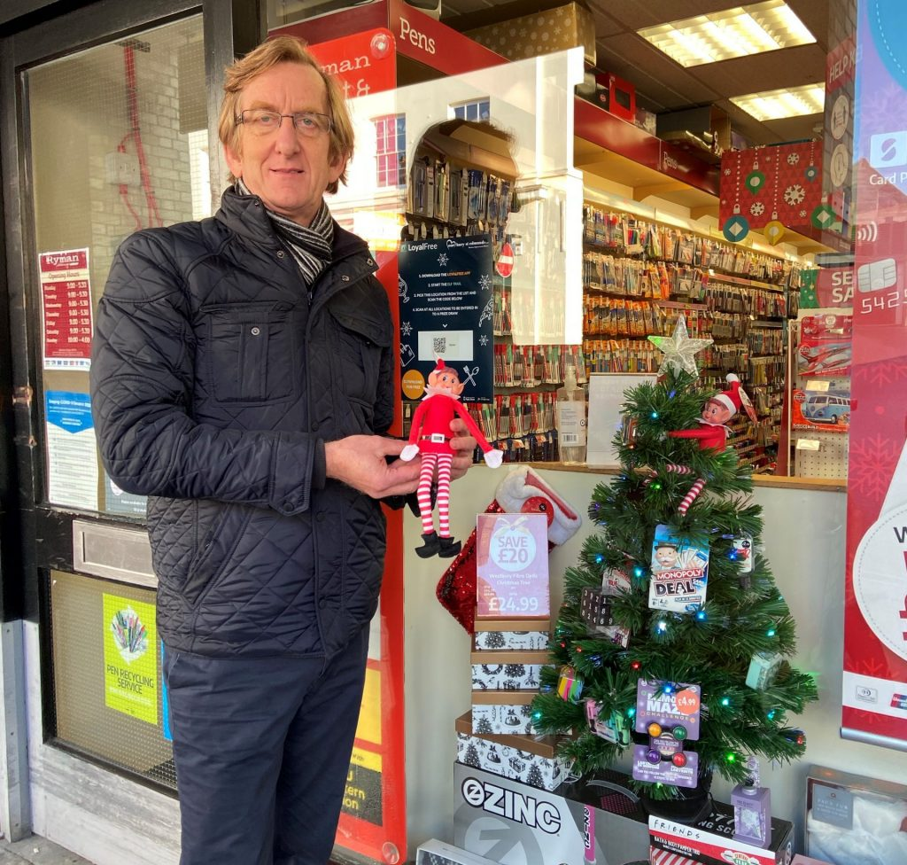 Our Bury St Edmunds Elf trail launches in town centre