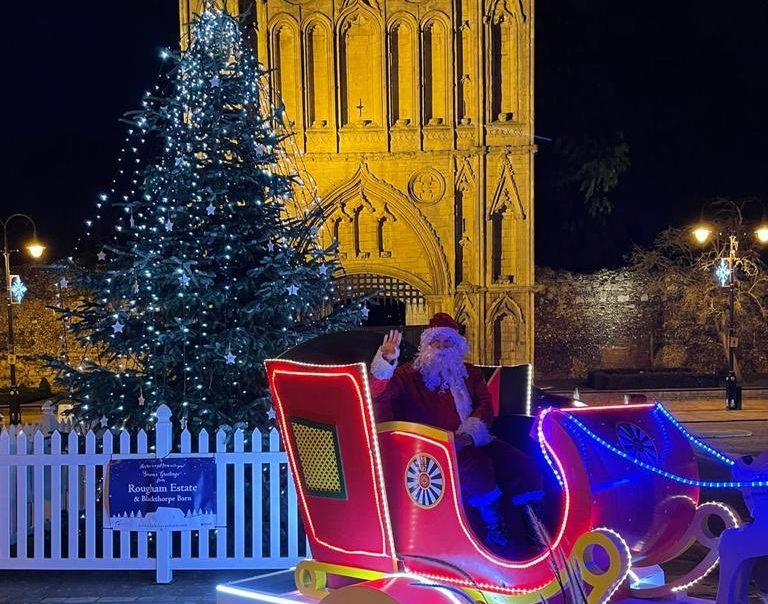 Where can you see Santa this December in and around Bury St Edmunds?