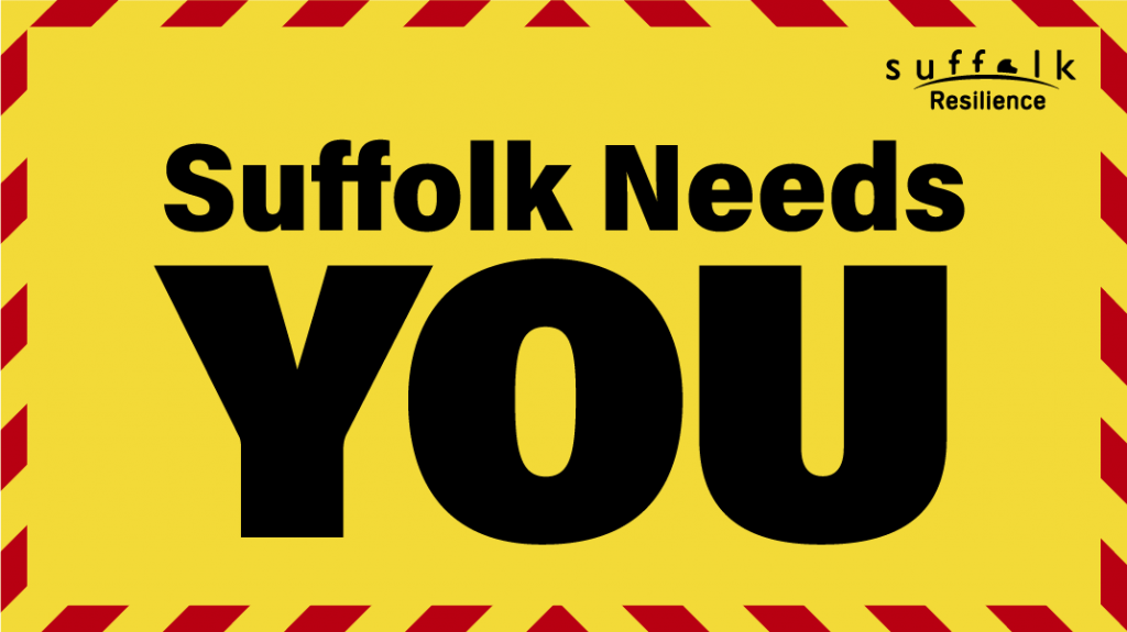 """Suffolk Police urge us to """"continue to show restraint this weekend"""""""