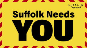 "Suffolk Police urge us to ""continue to show restraint this weekend"""