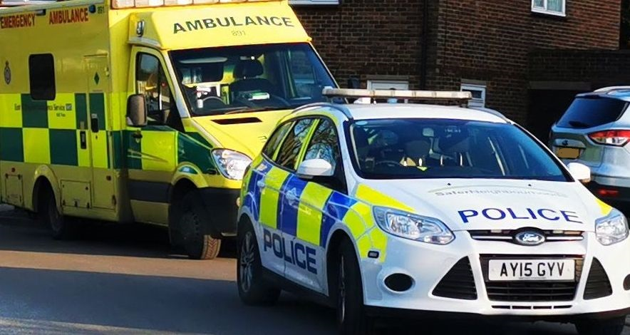 Emergency services attend 'industrial incident' in Bury St Edmunds