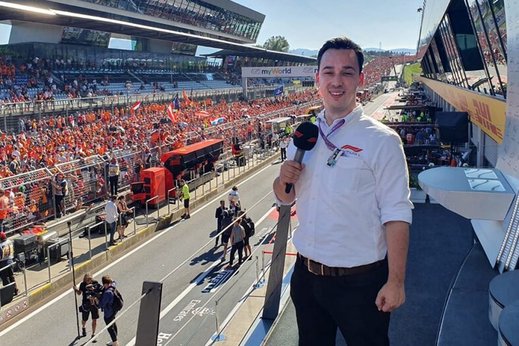 Former RWSfm presenter Alex Jacques takes over as lead commentator for Channel 4's F1 coverage