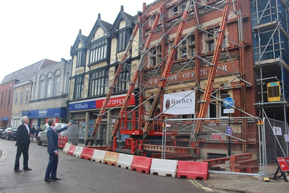 First phase nearing completion as Cornhill redevelopment progresses