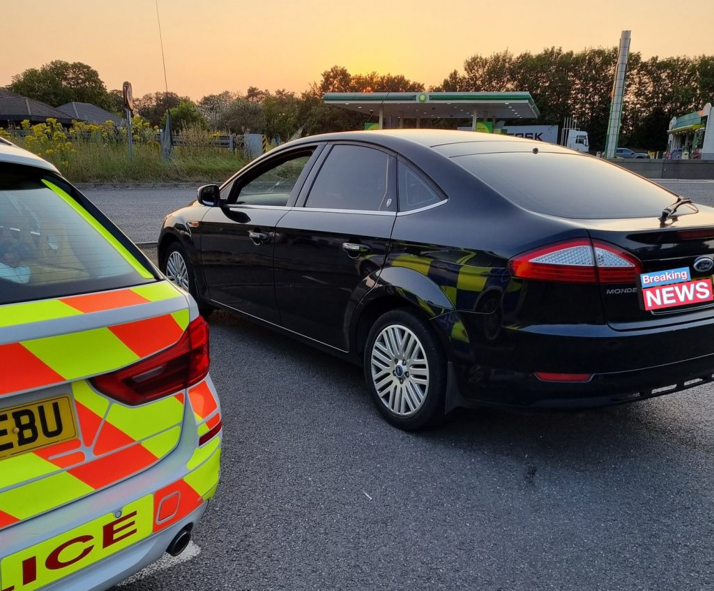 Car seized after failing to stop for Police on the A14 at Bury St Edmunds