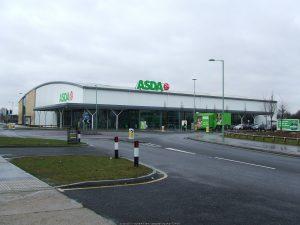 Police arrest a man following an assault at Asda in Bury St Edmunds