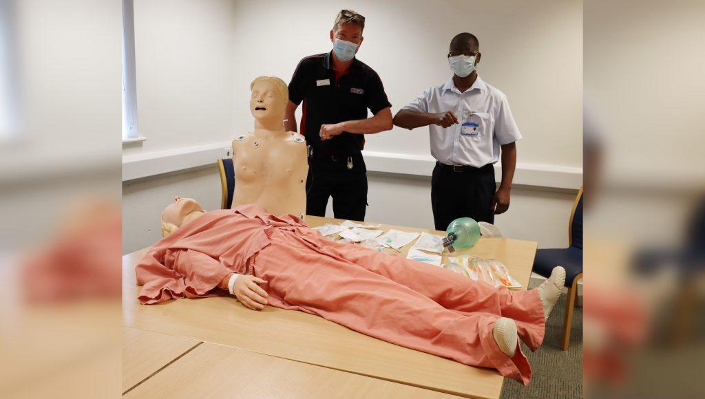 Donation breathes new life into medical training kit