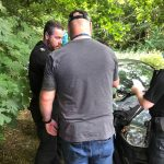 Man arrested follow brief chase in Stanton for domestic abuse offences