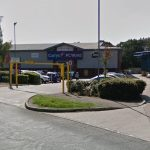 Three men have been arrested after breaking in to Currys PC World in Bury St Edmunds